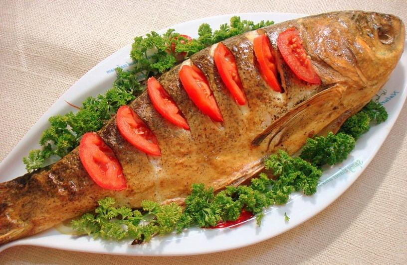 блюдо из толстолобика фото