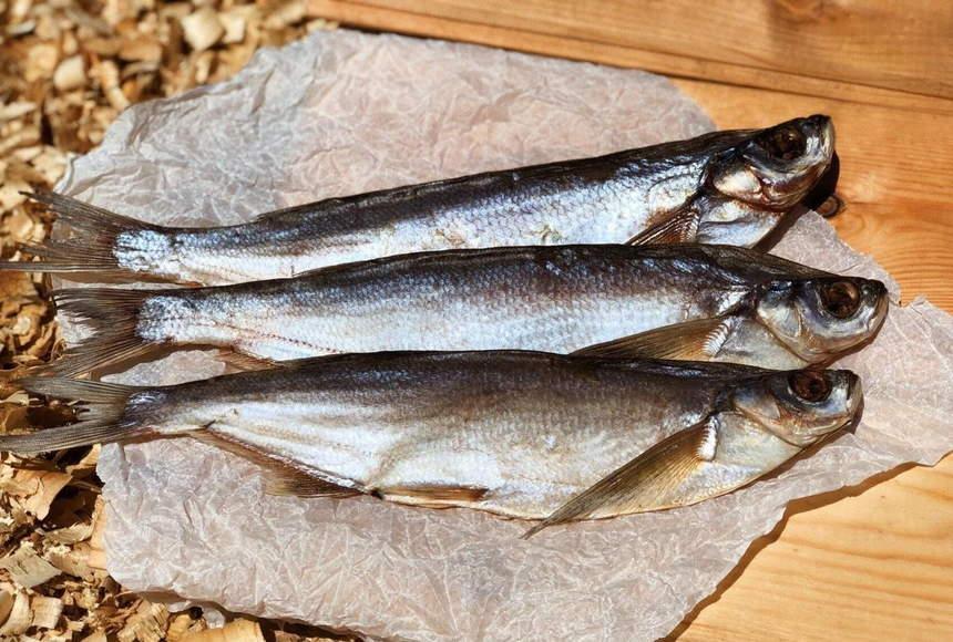 Рыба чехонь вяленая фото